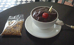 "Serving of ""açaí in the bowl"" with Granola"
